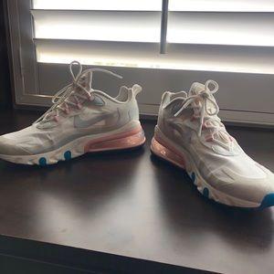 Nike Air Max 270 React Sneaker in White